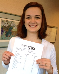 Congratulations!  Approved  by JCAPHO as an certified ophthalmic assistant.