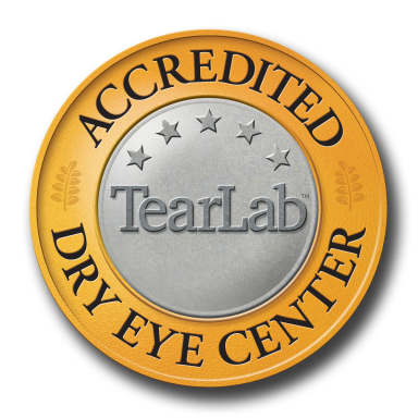 Tear Lab Dry Eye Accredited